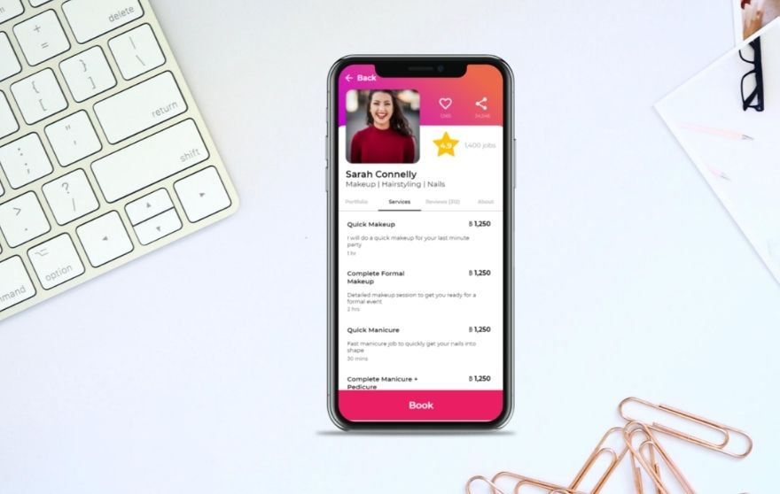 beauty health app featured image